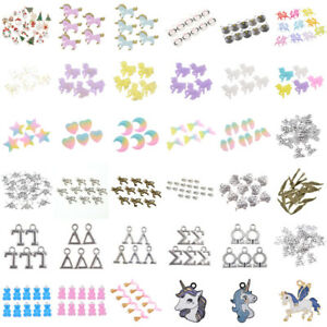 Wholesale-DIY-Lots-Unicorn-Bear-Beads-Jewelry-Making-Charms-Craft-Xmas-Gift-Hot