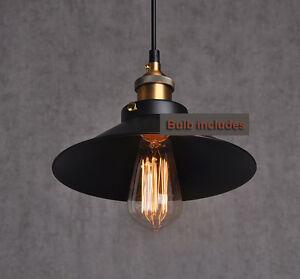 Details About Ceiling Vintage Industrial Loft Edison Bulb Lamp Light Pendent Kitchen Fixture