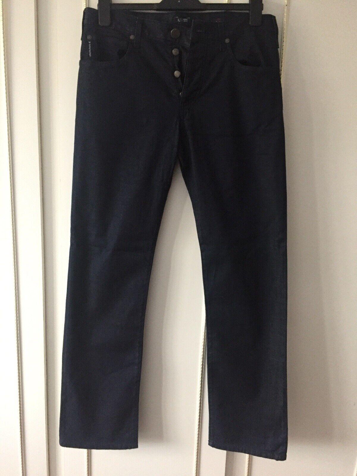 ARMANI uomo Jeans Blu 32 32 32 32 64b265