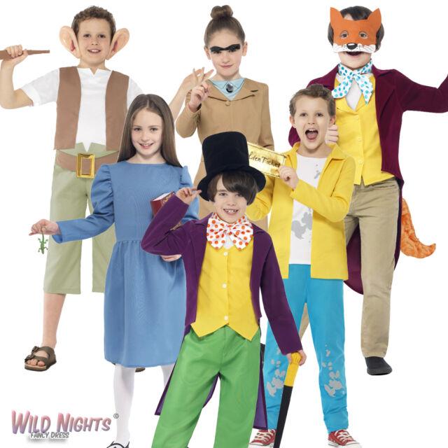 Roald Dahl Fantastic Mr Fox Costume Book Childs Kids Boys Fancy Dress Costume