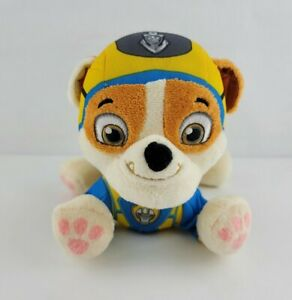 """Paw Patrol Plush Air Rescue Rubble Yellow 8"""" Spin Master"""