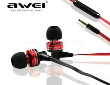 AWEI S90vi High Bass & Best Sound Headset with Mic for Iphone & android phones
