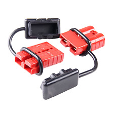 Quick Connector Plug For 12V Winch Trailer Driver Electrical Devices 120A Pair