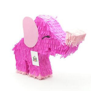 Elefant Pinata SET   für den Safari Dschungel Kindergeburtstag   Geschenk-Idee