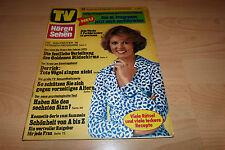 TV Hören und Sehen Nr.14/1976 Roy Black,Tony Marshall,Lassie