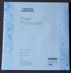 CREATIVE-MEMORIES-TRUE-12x12-PAGE-PROTECTORS-BNIP