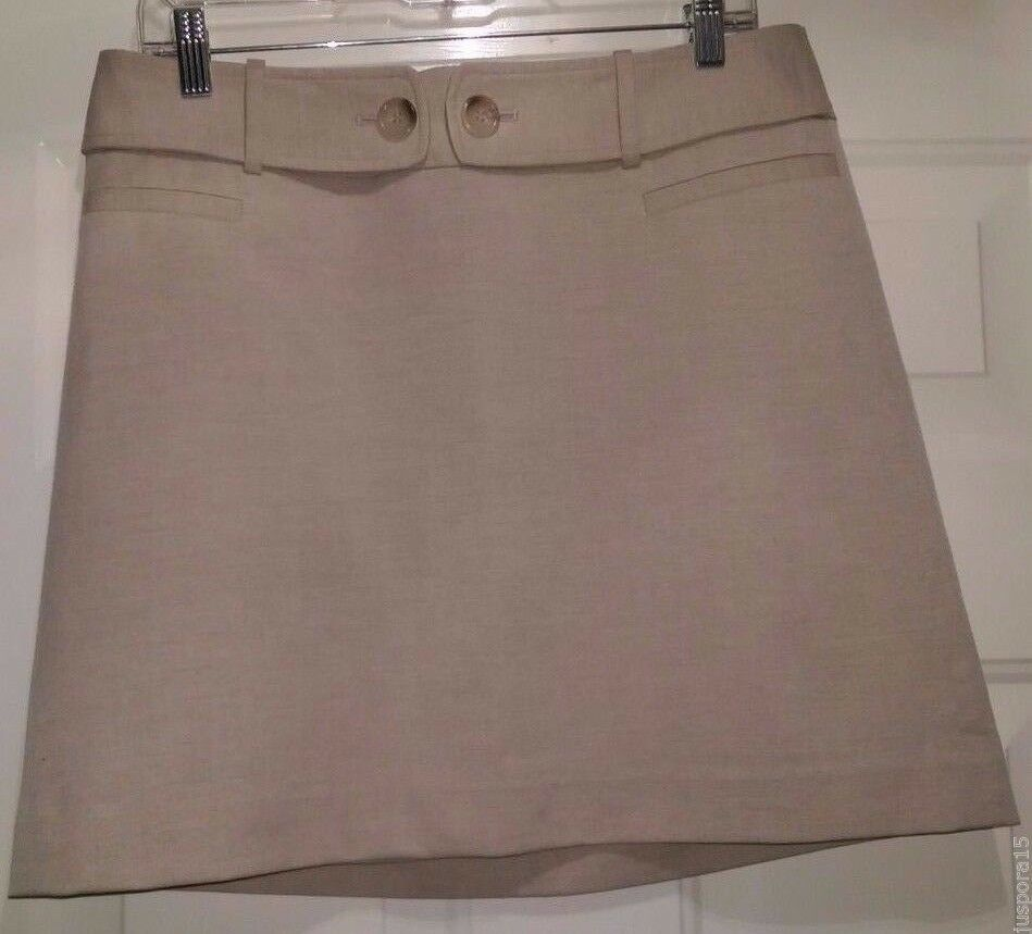The Limited NWT Womens Light Brown Skirt Size 8