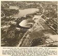 1952 Vast Stadium In Helsinki Outdoor Olympic Game Events Birds Eye View