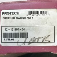 Protech Pressure Switch Assembly, Mpn: 42-101104-04 4210110404