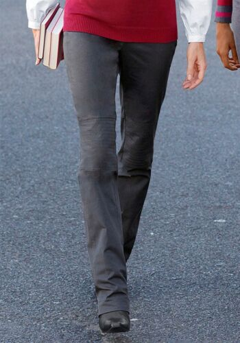 Kp 49,99 € SALE/%/%/% NUOVO!! STRETCH-Pantaloni-Jeans GRIGIO Scuro Vivien Caron