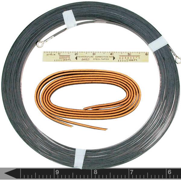 Lufkin CooperTools Super Hi-Way Surveyors Tape Nubian Blade 8mm x 30m 09030MB