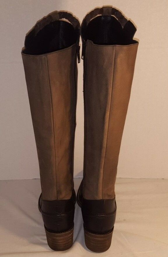 NEW Stiefel FREE PEOPLE WOMEN'S TRITONE TWO TONE TALL RIDING Stiefel NEW US 7 EUR 37 834deb