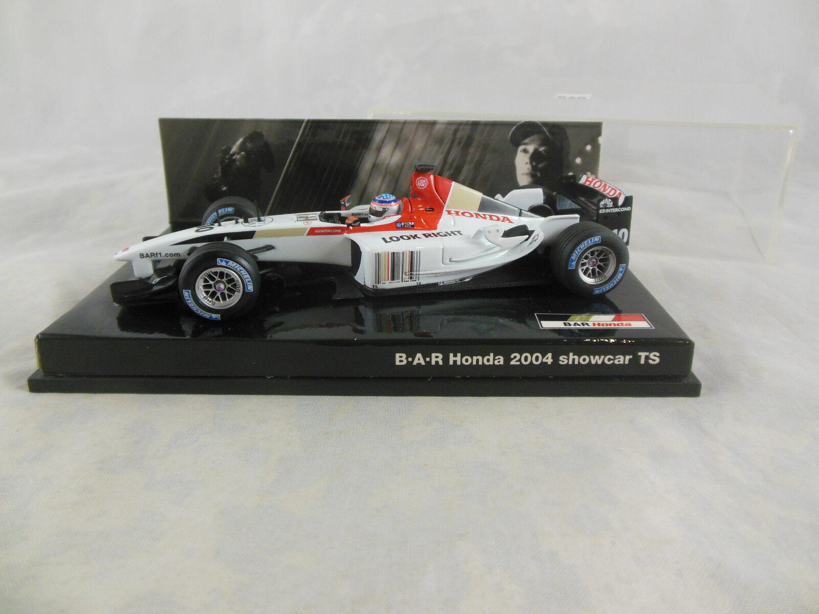 Rare Minichamps 2004 BAR Honda Showcar T Sato BAR Promotional Item Scale 1 43