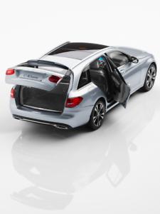1-18-modelo-de-coche-Mercedes-Benz-Clase-c-T-modelo-Combi-W205-S205-diamante-plata