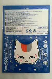 Natsume-039-s-Book-Of-Friends-Nyanko-Sensei-Posavasos-Raro-Edicion-Limitada