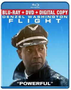 Flight (Two-Disc Combo: Blu-ray / DVD / Digital Copy + UltraViolet) DVD, Denzel