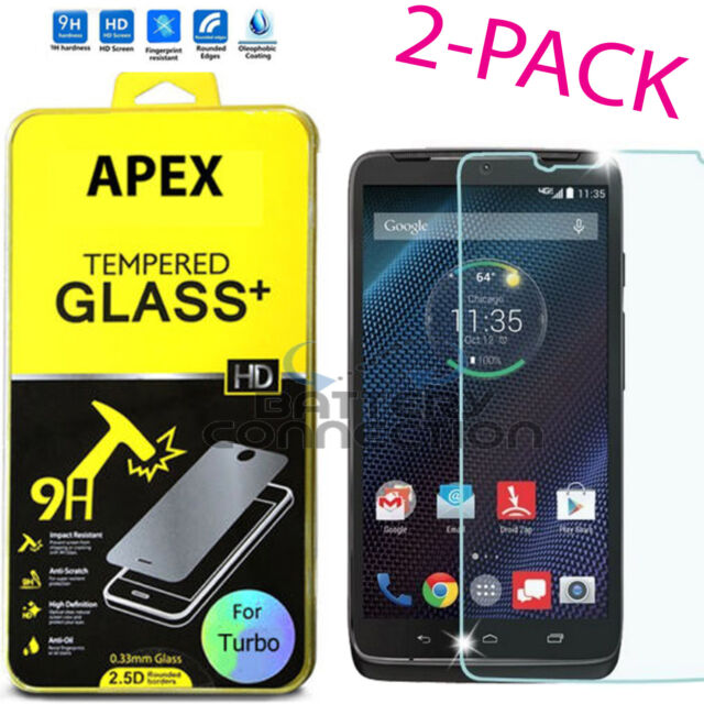 Premium Tempered Glass Screen Protector Film for Motorola Droid Turbo XT1254