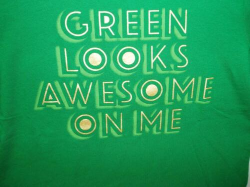 Boy/'s St Patrick/'s Day Green T-Shirt Green Looks Awesome On Me New