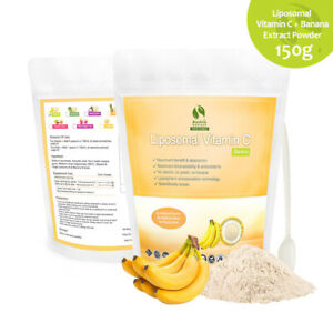Liposomal Vitamin C Dietary Supplement Banana Fruit Powder 150 gram