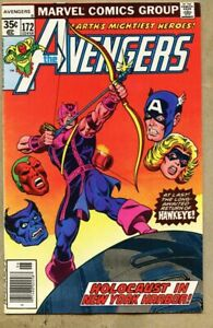 Avengers-172-1978-fn-6-0-Jim-Shooter-Hawkeye-returns-Korvac-saga