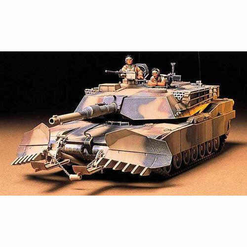TAMIYA 35158 M1A1 Abrams w//Mine Plough 1:35 Military Model Kit