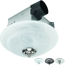 Utilitech 2-Sone 70-CFM Bathroom Ceiling Mounted Exhaust Vent Fan with Light