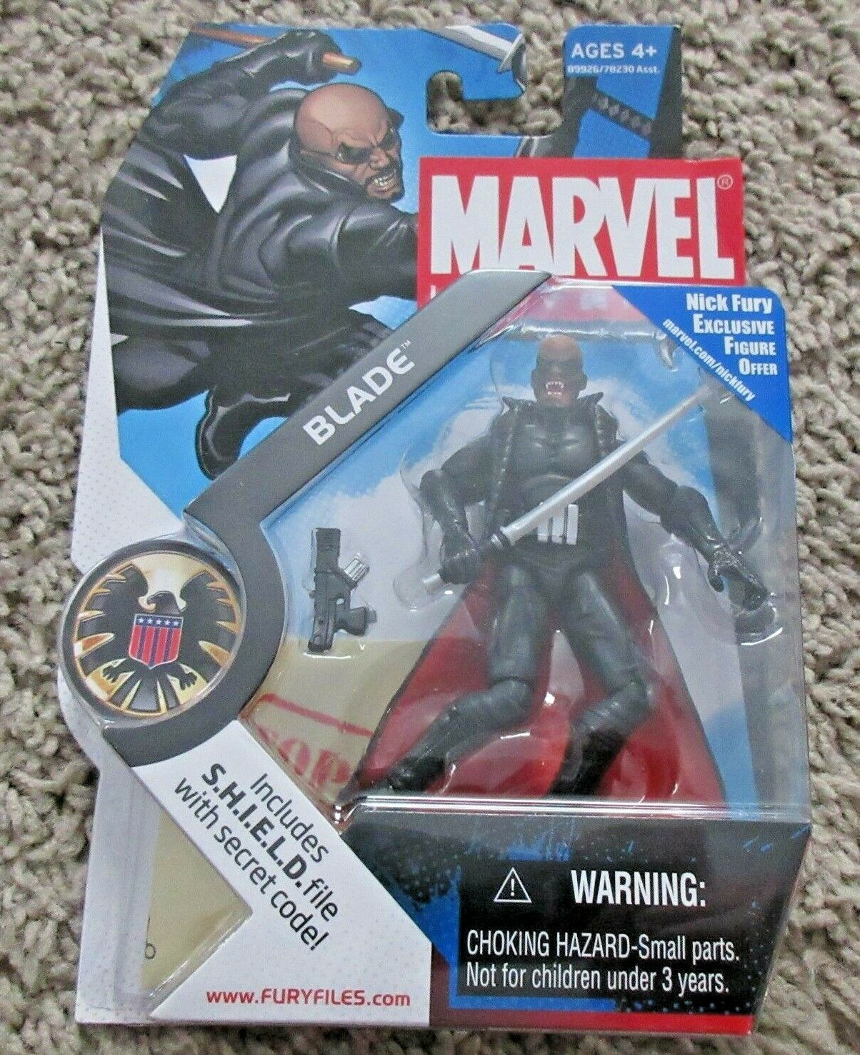 MARVEL UNIVERSE BLADE VAMPIRE HUNTER NEW RARE INFINITE AVENGERS