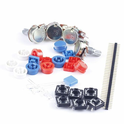 Electronic Parts Pack KIT for ARDUINO component Resistors Switch Button;CE