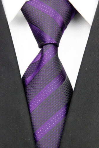 Necktie Silk Tie Party Men/'s Classic Jacquard Woven Narrow Fashion Skinny Slim#