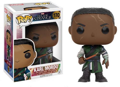 Pop Marvel Series Karl Mordo Vinyl Bobble Head Doctor Strange 170 Funko Pop!