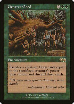 Abundance Urza/'s Saga HEAVILY PLD Green Rare MAGIC THE GATHERING CARD ABUGames