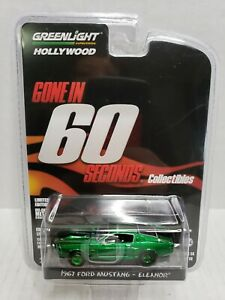 Rare-Greenlight-Gone-In-60-Seconds-1967-Ford-Mustang-Eleanor-Green-Machine-Chase