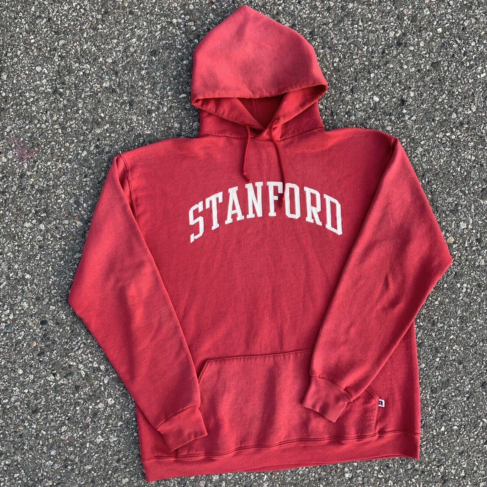 Vintage 70s Russell Athletic Hoodie Sweatshirt US… - image 1