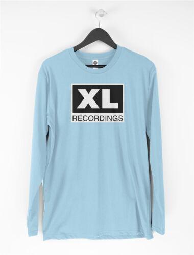 XL Recordings Long Sleeve T-Shirt House Music Rave DJ Oldskool SL2