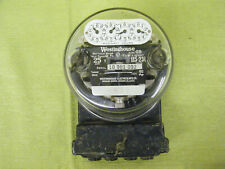 Vintage Westinghouse Electric Power Meter 3 Wire Type OB Steampunk