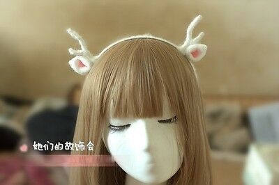 Christmas elk horn Headband Cat Ears Headdress Christmas Holiday Party Accessory