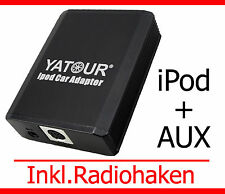 IPod iPhone adaptador aux VW r100/110 RCD RNS 200/300 mfd2 DVD delta premium 6 7