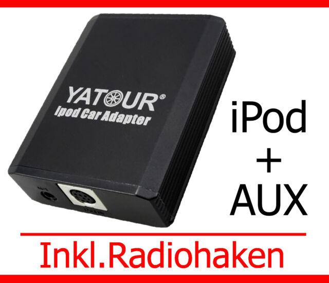iPod iPhone Aux Adapter Renault Clio Laguna Megane Modus Scenic Trafic Twingo