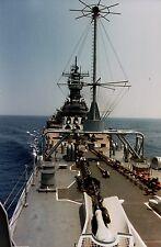 PRINT of USS Iowa (BB-61) Fo'c'sle