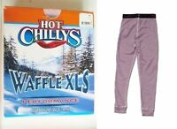 Hot Chillys Waffle Girls Large Thermal Bottoms Under Layer Ski Pants Ret$36 on sale