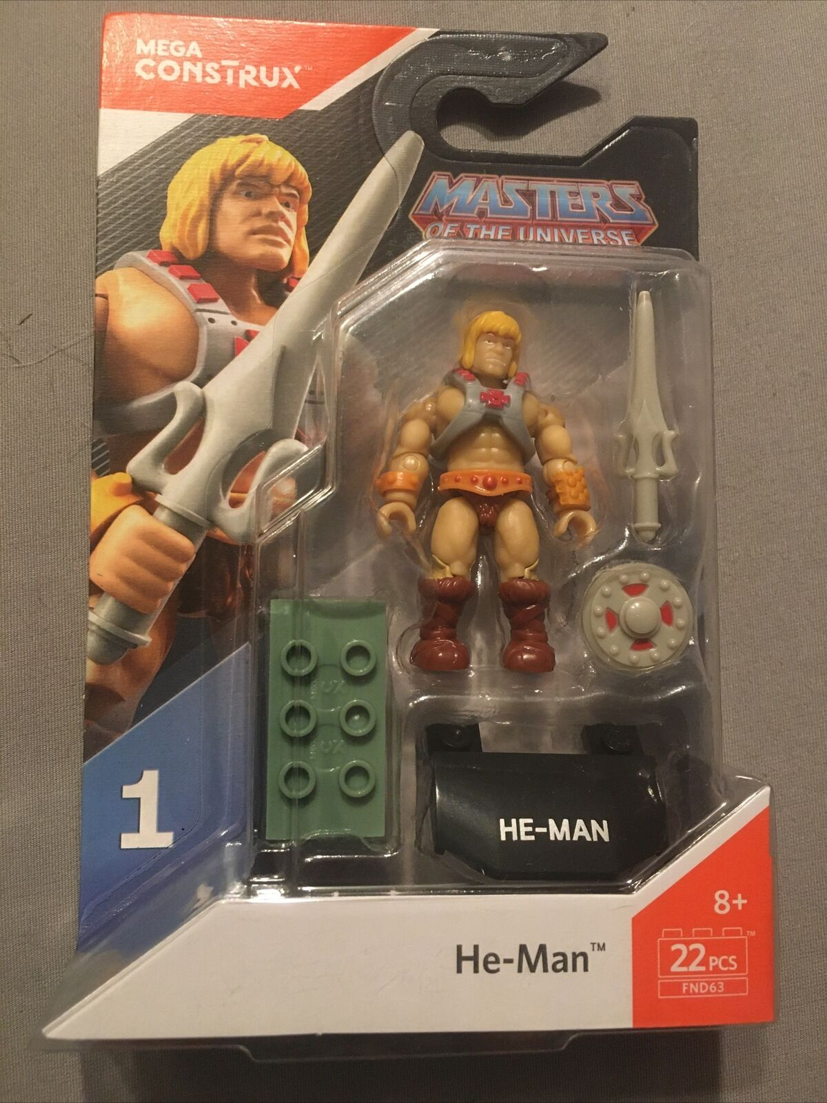 He-man and more Masters of the Universe You Pick/'em Mega Construx