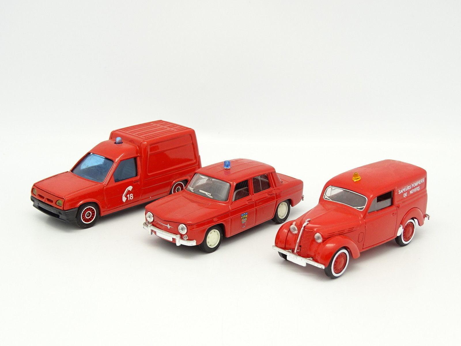 Solido SB SB SB 1 43 - Lotto di 3 Renault Pompieri 0c7729
