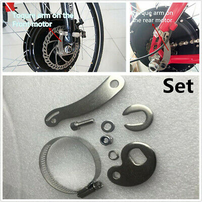 2 Set E-Bike Electric Bicycle Universal Torque Arm For Front Or Rear