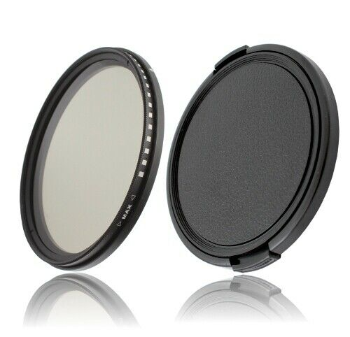 37mm variable ND filtro 37 mm nd2-nd400 /& 40,5mm objetivamente tapa lens cap
