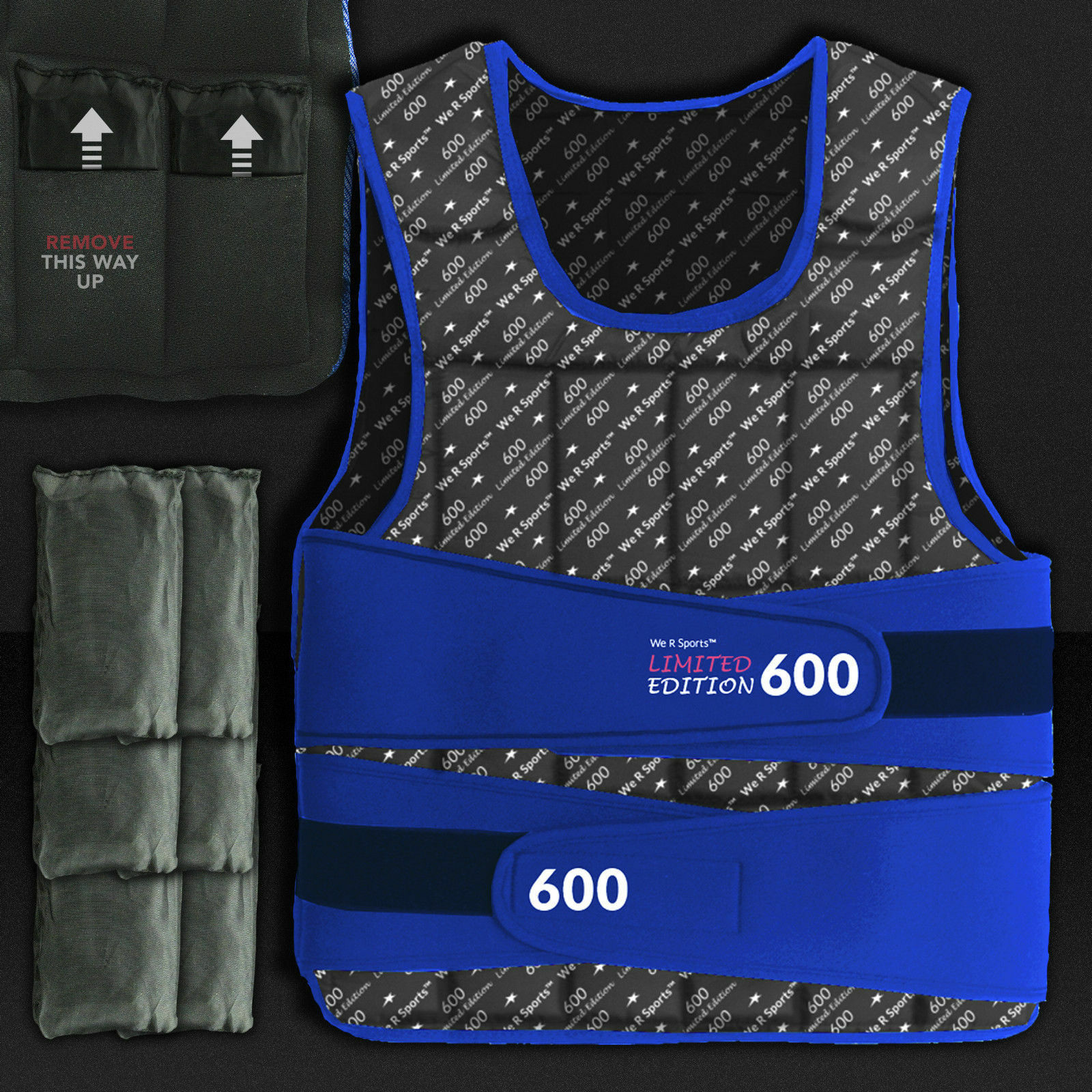 Adjustable Weighted Weight Vest Crossfit Training correrening Weight Loss 5 - 30KG