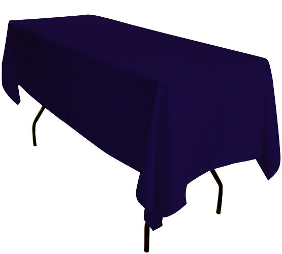 5x 229cmx335cm Bleu Marine Rectangulaire 1.8 M Chevalet Table Nappes Exhibition