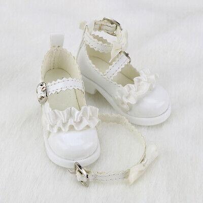 1//3 BJD Shoes Supper Dollfie Black suede shoes DREAM Dollmore SOOM AF AOD DZ MID