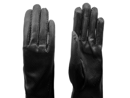 Parisi GlovesPitted Leather 60 cm long Lange Lederhandschuhe Abendhandschuhe