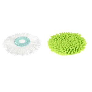 Spin Amp Go Pro Replacement Mop Head And Microfiber Duster