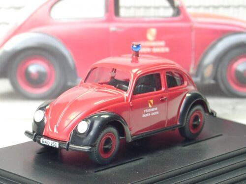 Wiking VW Maggiolino BISCOTTO 1200 vigili del fuoco Baden-Baden, veterani-incontro 2017 - 1:87